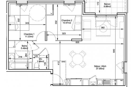 Appartement neuf NEUVILLE SUR SAONE